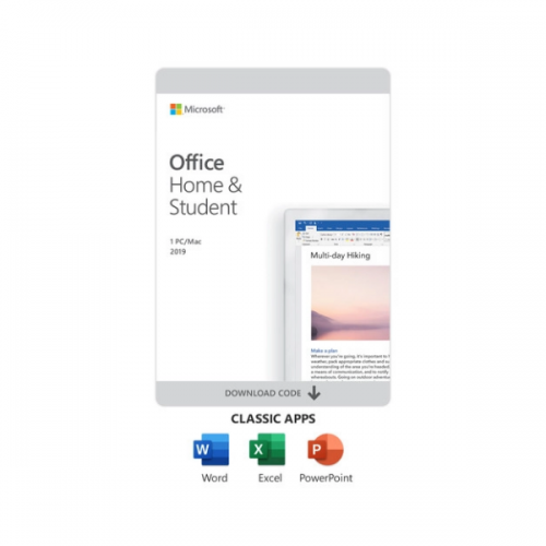 Microsoft Office Home & Student 2019 (1-User License, Product Key Code) By Microsoft