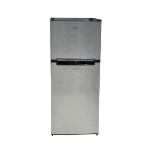 MIKA Refrigerator, 118L, Direct Cool, Double Door, Line Silver Dark photo