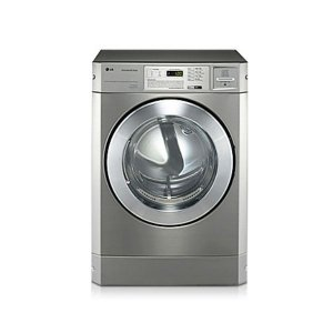 LG FH069FD2FS Commercial Washing Machine, Front Load, 10KG, Silver - Stackable photo