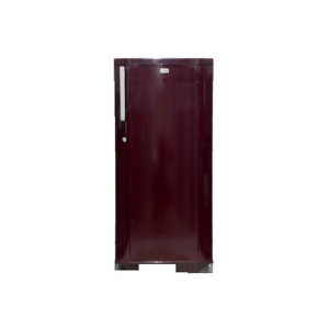 MIKA Refrigerator, 190L, Direct Cool, Single Door, Burgundy Red photo