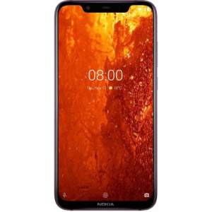 Nokia 8.1 6.18''4GB RAM, 64GB Storage 12MP+13MP ZEISS dual rear cam 20MP front camera photo