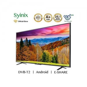 Syinix 43 Inch  FULL HD ANDROID SMART TV, YOU-TUBE, DVB-T2 43A1S-L photo