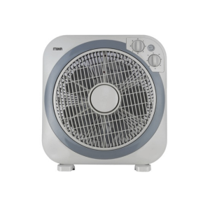 "MIKA Box Fan, 12"", Square, Light & Dark Grey MFB1212 photo"