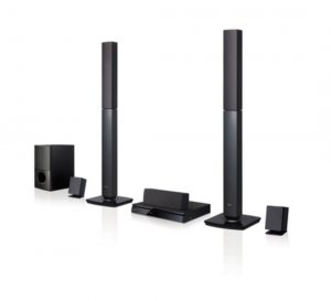 LG HomeTheater LHD647 1000W RMS 5.1ch + BLUETOOTH photo