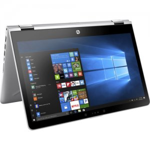 HP Pavilion x360 15-inch Convertible Laptop, Intel Core i5-8250U Processor, 8 GB RAM, 1 TB Hard Drive, Windows 10 Home (15-cr0011nr, Silver) photo