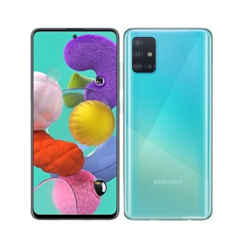 "SAMSUNG GALAXY A51 6.5"" INCH - 4GB RAM - 128GB ROM - 48MP+12MP+5MP+5MP CAMERA - 4G - 4000 MAH BATTERY [SM-A515FN/DS] By Samsung"