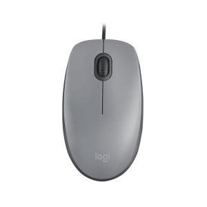 Logitech USB Silent Mouse M110S - Mid Grey photo