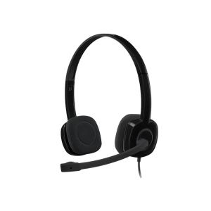 Logitech Stereo Headset H151 - Black (3.5 MM JACK) photo