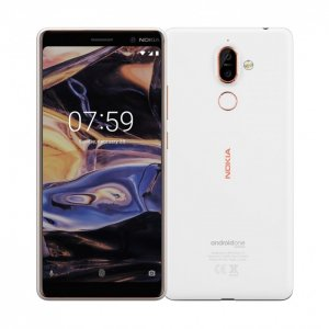 "Nokia 7 Plus 6.0"" 4GB RAM 64GB  - White/Black photo"