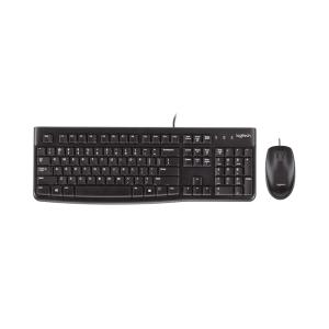 Logitech USB  Keyboard & Mouse MK120 Combo photo