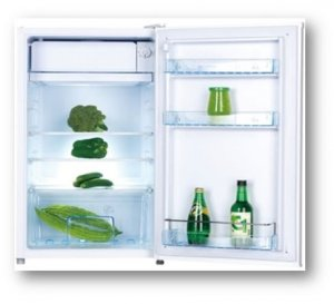 VON HOTPOINT HRD-092S MINI FRIDGE 92L – SILVER photo