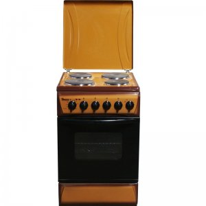 4 ELECTRIC 60X60 WHITE/BROWN/SILVER COOKER- RF/198 photo