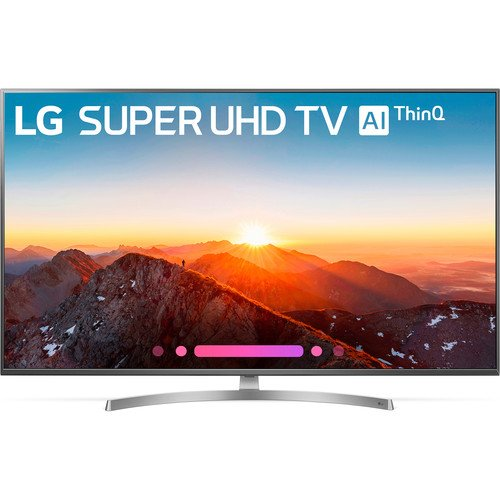 LG 65 inch HDR 4K UHD Smart Nano Cell IPS LED TV 65SK800PUA By LG