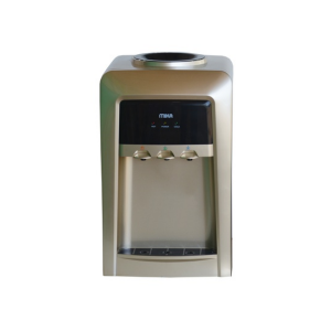 MIKA Water Dispenser, Table Top, Hot, Normal & Cold, Electric Cooling MWD1502/GBL Gold & Black photo