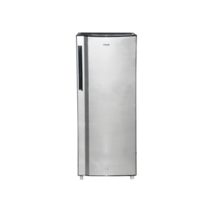 MIKA Refrigerator, 175L, Direct Cool, Single Door, Line Silver Dark photo