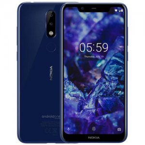 "Nokia 5.1 Plus (Nokia X5) (TA-1105) Smartphone: 5.86"" Inch - 3GB RAM - 32GB ROM - Dual 13MP+5MP Camera - 4G LTE - 3060 MAh Battery photo"