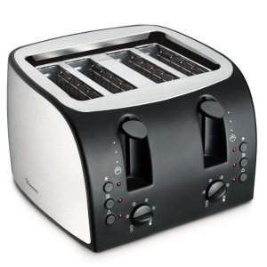 Ramtons  4 SLICE POP UP TOASTER STAINLESS STEEL- RM/195 photo