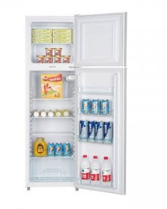 ICECOOL BCD-168 Fridge – 168 Litres – Silver photo