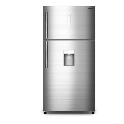 Samsung RT85K7110SL Double Door Fridge 618 Litres, Non Frost, LVS, LED - Silver By Samsung
