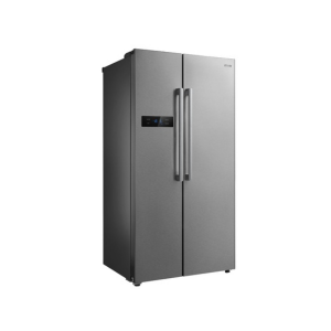 MIKA Refrigerator, 587L, No Frost, 2 Door, Stainless Steel photo