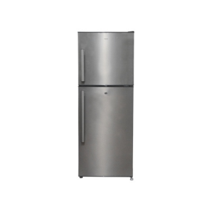 MIKA No Frost Refrigerator, 200L, Double Door, Brush Stainless Steel photo