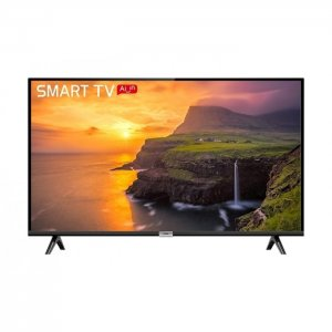 TCL 32 Inch S68A  Frameless Smart Android TV - Black photo