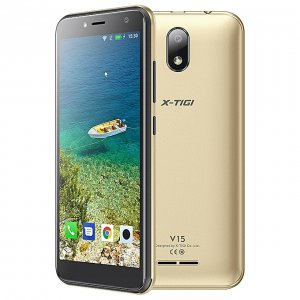"X-TIGI V15, 5.0"", 16GB + 1GB (Dual SIM), Gold photo"
