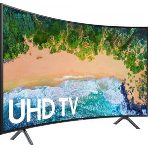 Samsung 55 Inch HDR UHD Smart Curved LED TV 55NU7300K 2018 Model  photo