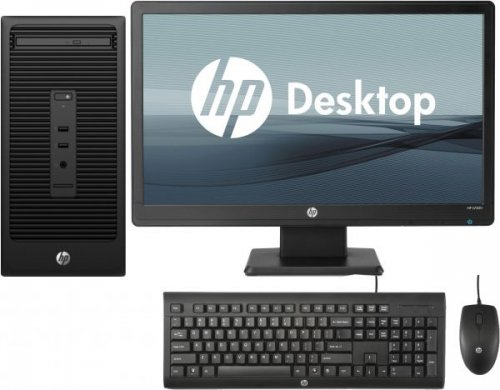 "Hp 406 G2 MT Business PC Intel Pentium 4GB RAM 500GB HDD DVDrw Keyboard Plus Mouse + 18.5"" TFT By HP"