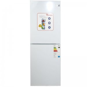 196 LITERS COMBI FRIDGE, WHITE- RF/288 photo
