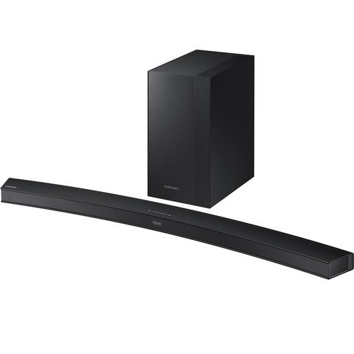Samsung HW-M4501 Soundbar 2.1ch, 260W with Wireless Curved Subwoofer -Silver By Samsung