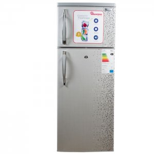 213 LITERS 2 DOOR DIRECT COOL FRIDGE, MAR SILVER- RF/244 photo