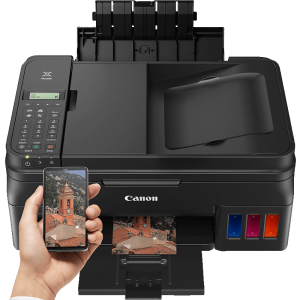 Canon G4400 ALL-IN-ONE Print,copy,scan and fax  with   WIFI Connectivity  Printer photo