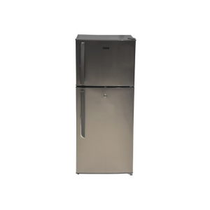 MIKA Refrigerator, 118L, Direct Cool, Double Door, Dark Silver photo