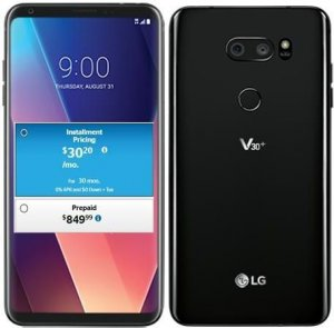 "LG V30 Plus 6.0"" 128GB photo"