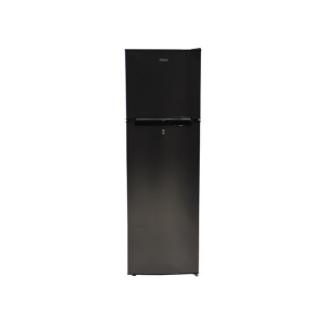 MIKA Refrigerator, 168L, Direct Cool, Double Door, Dark Matt Stainless Steel photo