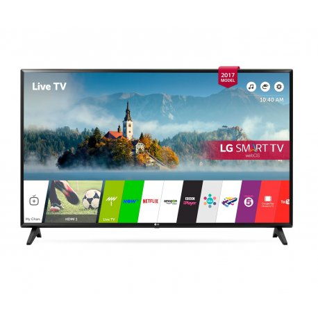 LG 49 Inch Smart Full HD LED TV- 49LJ610V with Magic Remote