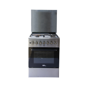 Mika Standing Cooker, 60cm X 60cm, 3 + 1, Electric Oven, Half Inox photo