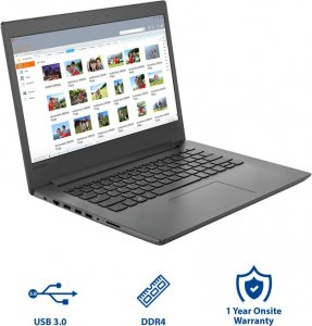 "Lenovo IDEAPAD 130 -141KB Ci5 8250u/4GB/1TB/2GB NVIDIA MX110 DOS/14""/ ENGLISH KEYBOARD/BLACK photo"