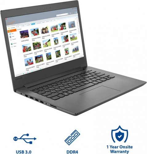 "Lenovo IDEAPAD 130 -141KB Ci5 8250u/4GB/1TB/2GB NVIDIA MX110 DOS/14""/ ENGLISH KEYBOARD/BLACK By Lenovo"