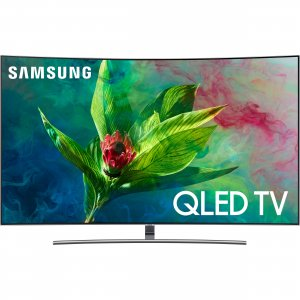Samsung 65 inch Curved Ultra HD Smart QLED TV - QA65Q8CN photo