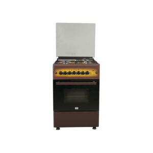 MIKA Standing Cooker, 58cm X 58cm, All Gas, Gas Oven, Dark Brown MST60PIAGDB/EM photo