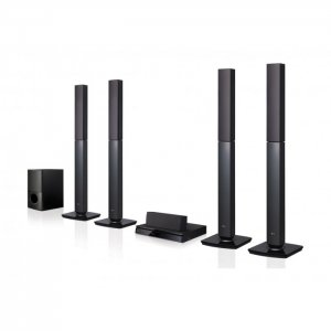 LG 1000W 5.1CH Bluetooth DVD All-In -One Home Theatre System (LHD655BT) photo
