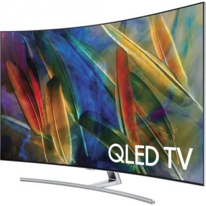 Samsung 65 inch QLED  HDR UHD Smart Curved TV-QA65Q7C- Free Delivery  photo