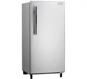 VON HOTPOINT HRD-201SL SINGLE DOOR FRIDGE 170L – SILVER photo