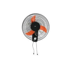 "MIKA Wall Fan 16"", Orange & Black -  MFW161/OB photo"