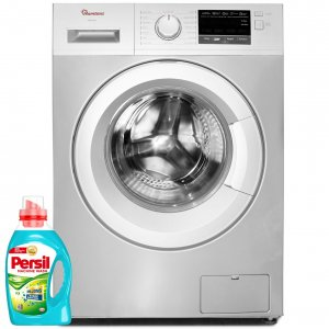FRONT LOAD FULLY AUTOMATIC 7KG WASHER 1400RPM + FREE PERSIL GEL- RW/144 photo