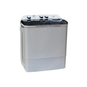 MIKA Washing Machine, Semi-Automatic Top Load, Twin Tub, 8Kg, White & Grey- MWSTT2208   photo