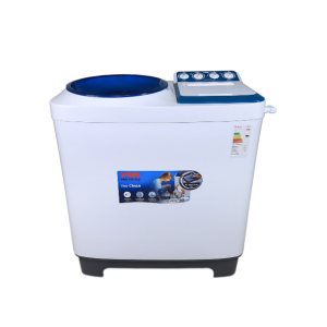 Von VALW-10MLB Twin Tub Washing Machine - White - 10Kg photo