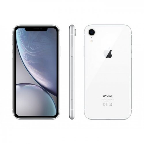 Apple iPhone XR 64GB Single SIM Phone - White By Apple